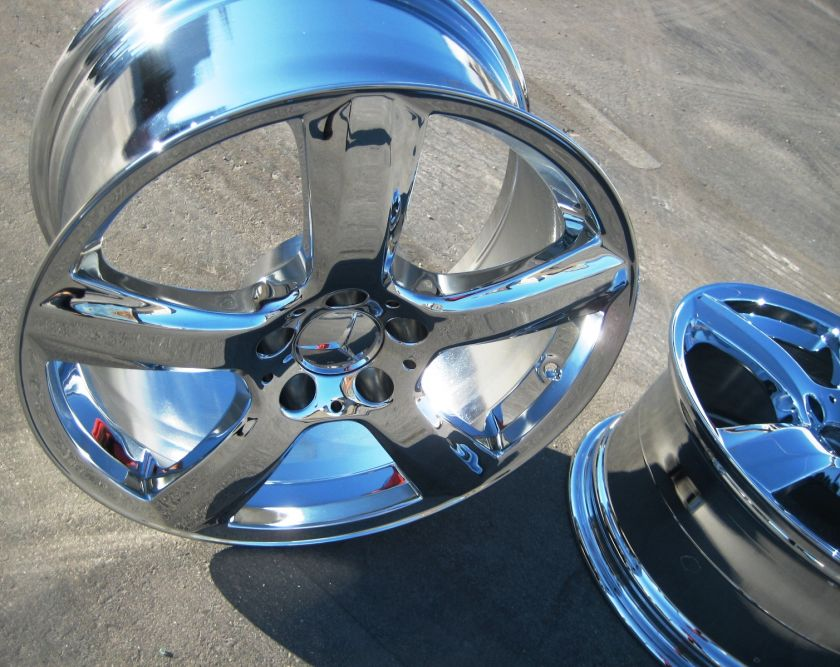 NEW 2012 18 FACTORY MERCEDES CLS550 RONAL OEM CHROME WHEELS RIMS